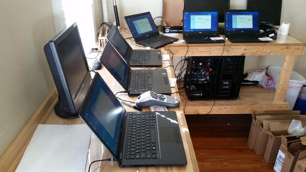Large Laptop Deployment
